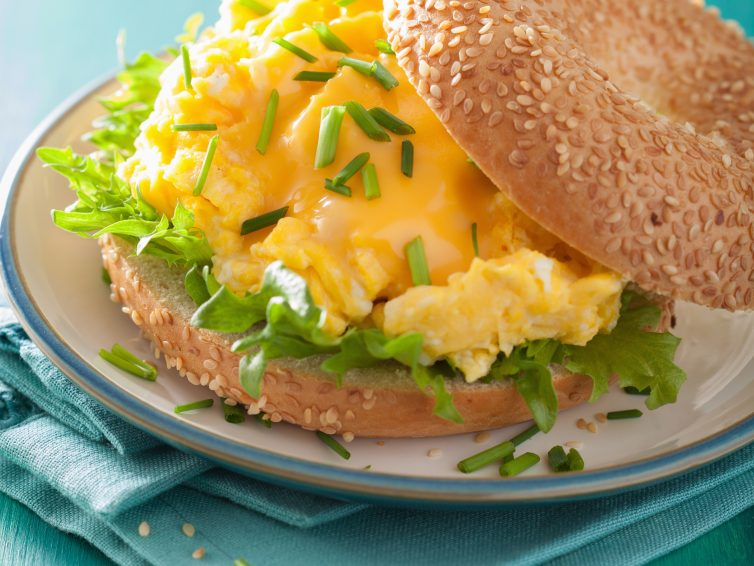 The Ultimate Egg And Cheese Sandwich