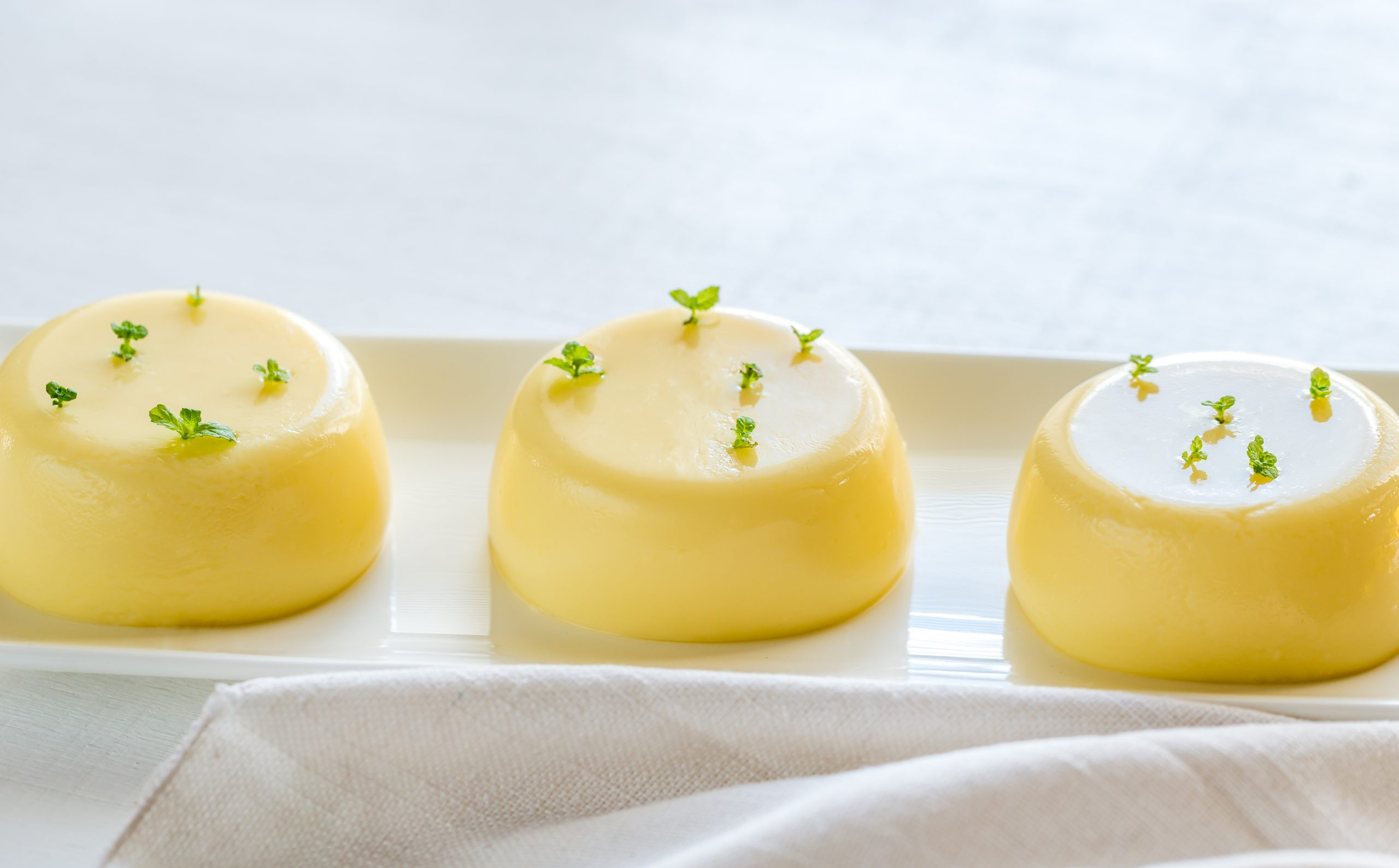 vanilla puddings