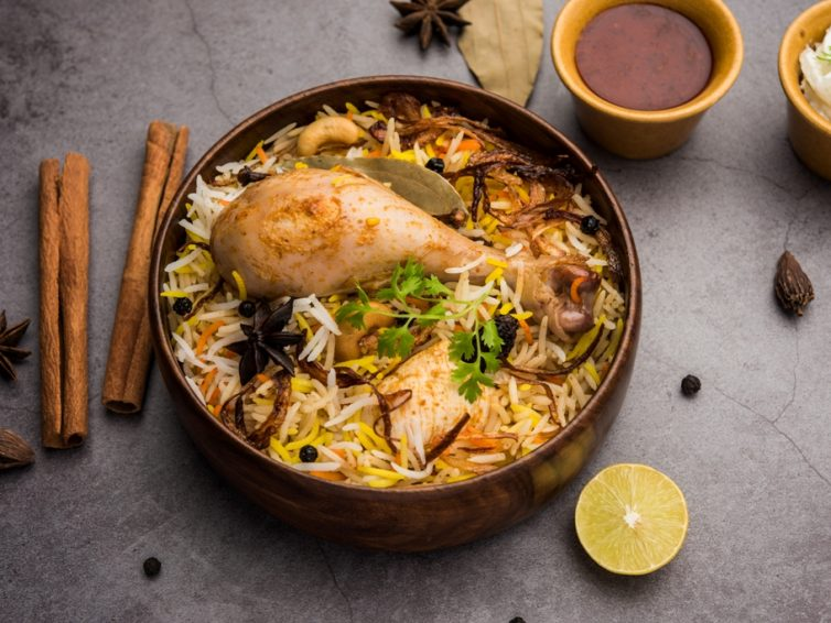 Traditional Chicken Biryani