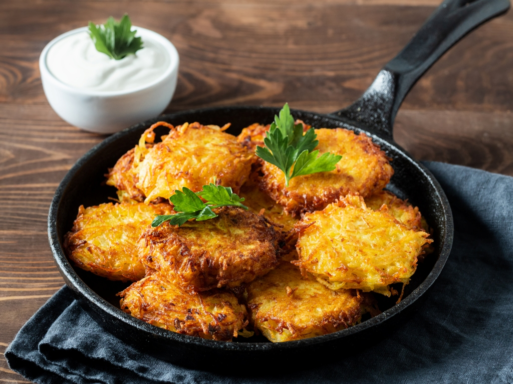 Extra Crispy Restaurant-Style Hash Browns