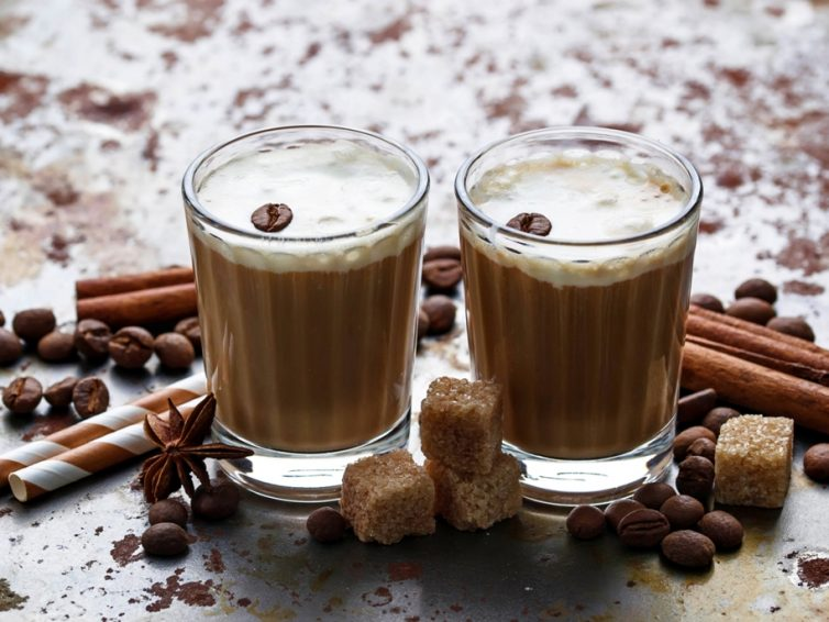 Simple Iced Coffee With Cream