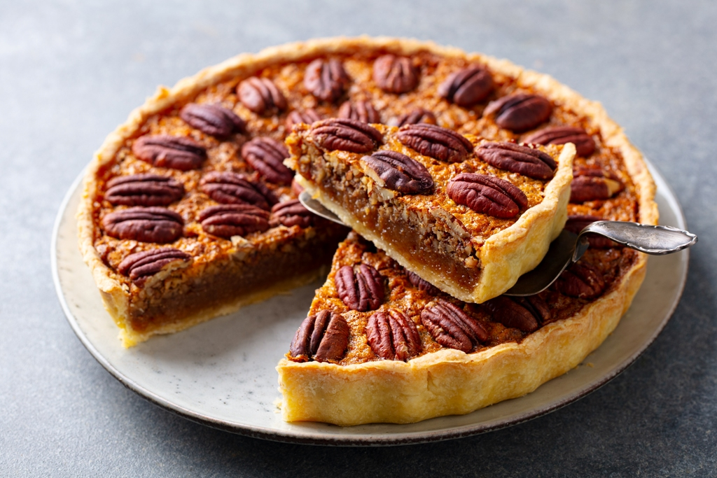 Homemade Southern Pecan Pie