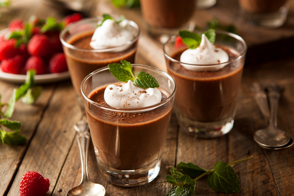 Affogato Chocolate Mousse