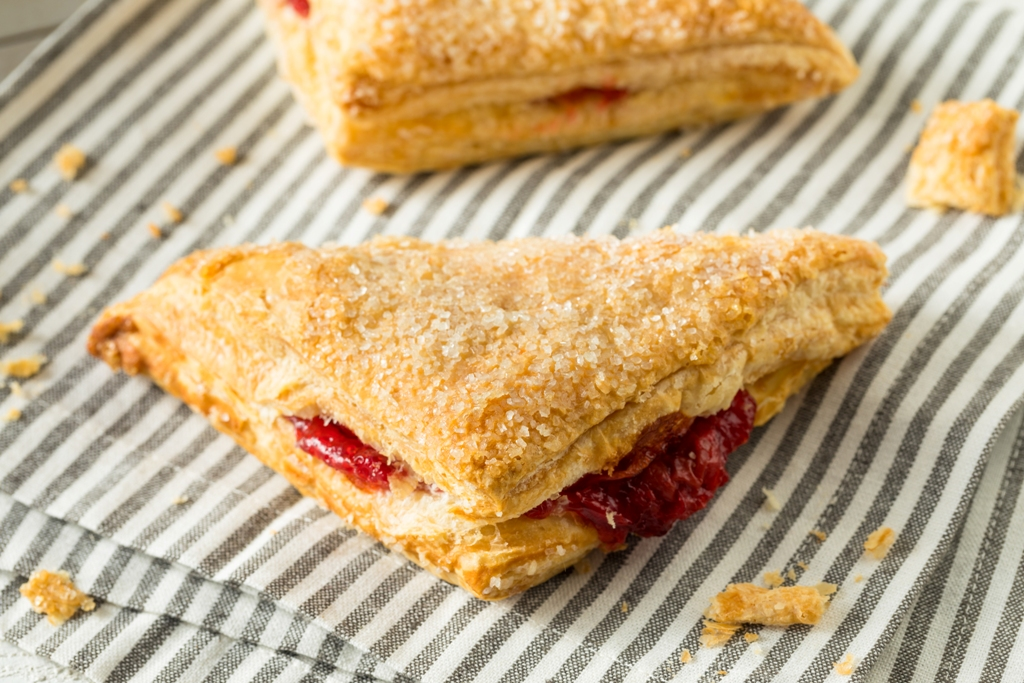 Fresh Raspberry Turnovers