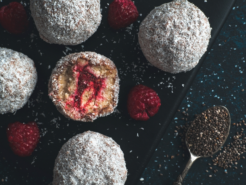 Vegan Lamington Bliss Balls