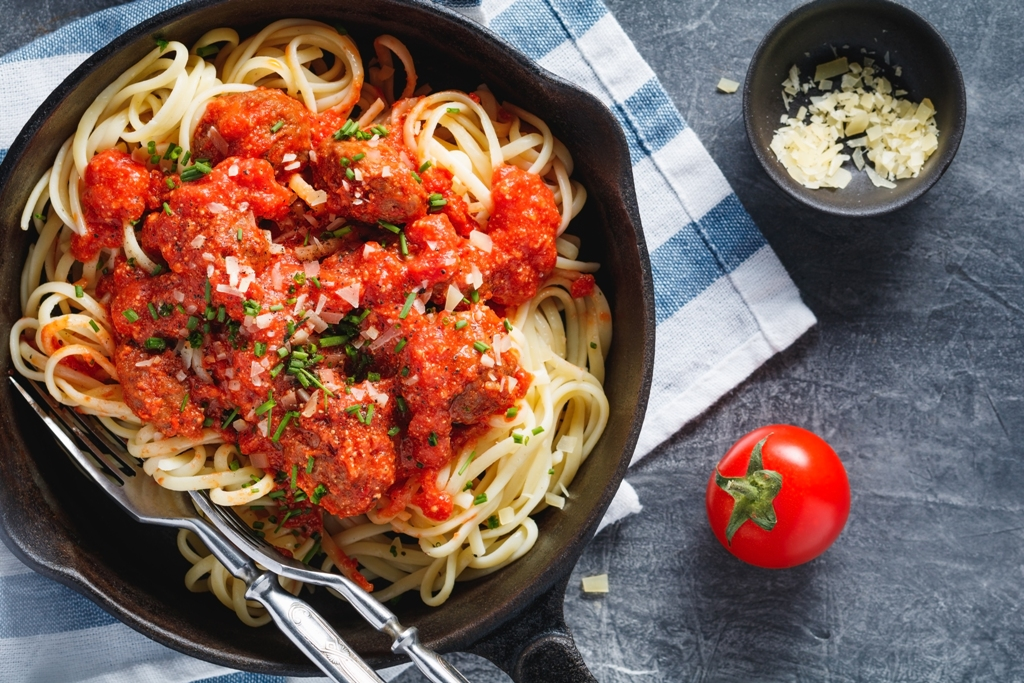 Flavorful Spaghetti And Meatballs