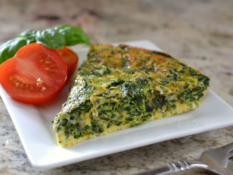 French Spinach Quiche