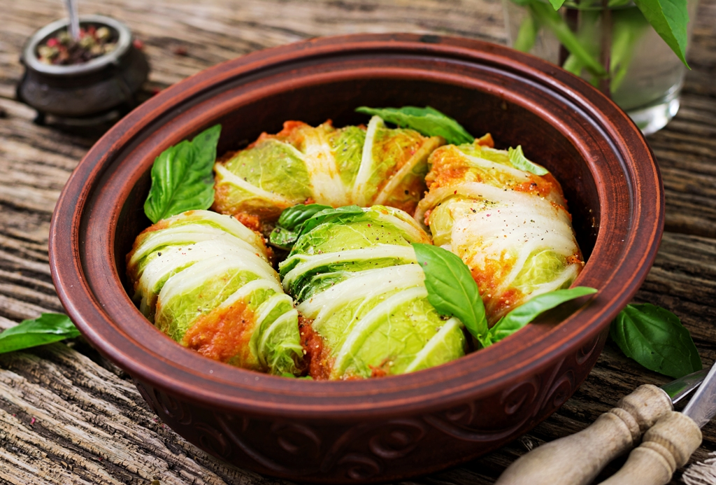 Polish Stuffed Cabbage Rolls