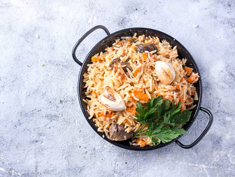 Delicious Spiced Lamb Pilaf