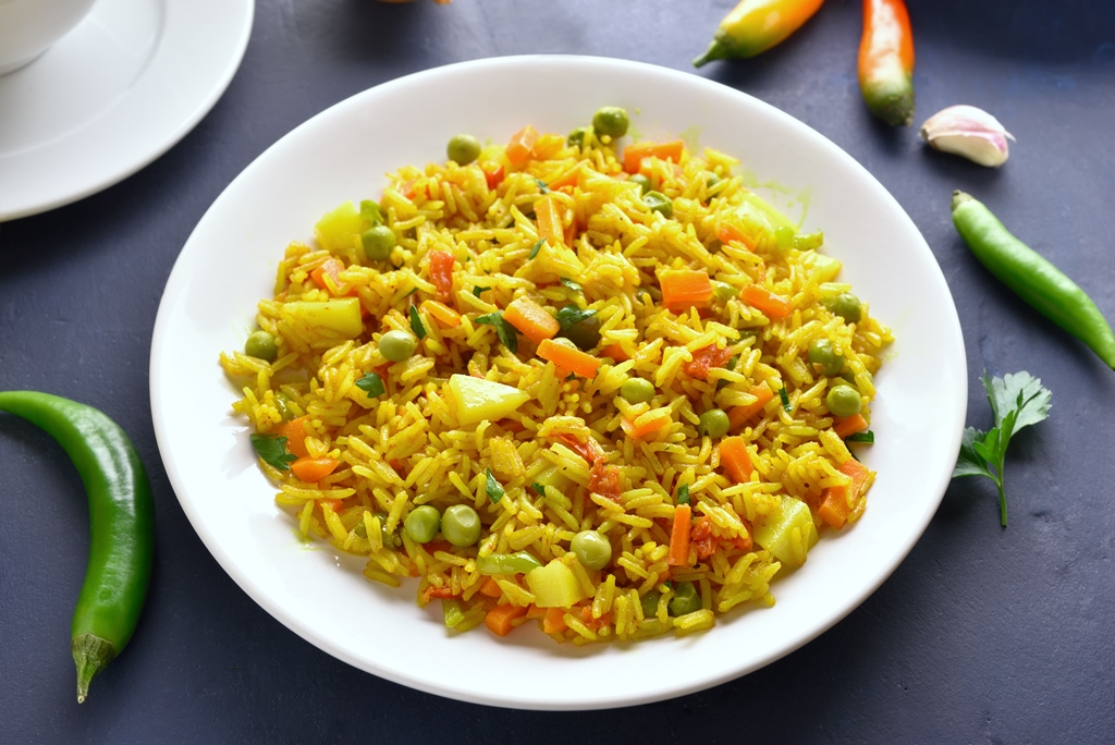 Quick and Easy Vegetable Pilaf
